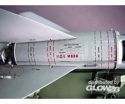 Trumpeter 00206 SA-2 Guideline Missile wLauncher Cabin in 1:35