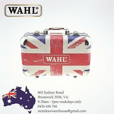 WAHL Union Jack Grooming Tool Case for Hair Clipper Trimmer Accessories  P-31431