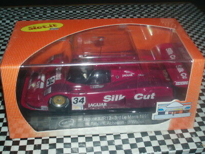 scalextric slot it CA13B Jaguar XJR12 Silk Cut Mint Boxed