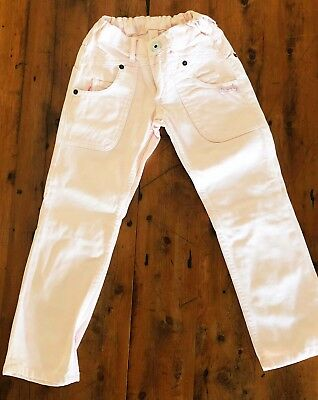 Roberto Cavalli Angels Girls Jeans. Size 6. ICE PINK Exc Cond