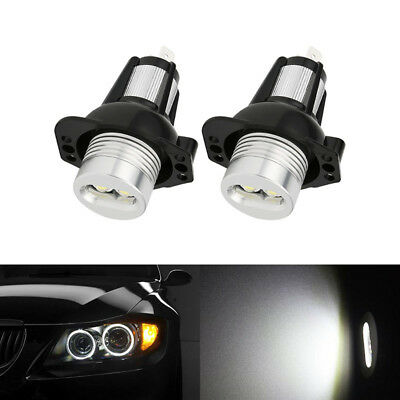 BMW 3 Series E90 Saloon E91 Touring Angel Eyes Halo LED Light Bulb Canbus 2x 6W