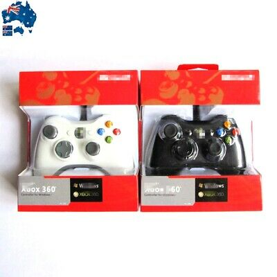 New Wired Gamepad Game Controller For Microsoft Xbox 360 Windows PC Game Console