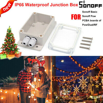 Sonoff IP66 Waterproof Cover for Sonoff Basic/RF/Dual/Pow/TH16/G1 Smart Home