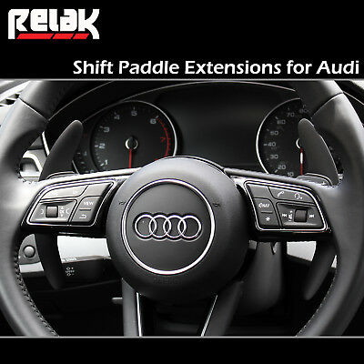 Shift Paddles for Audi A4 and Audi S4 - Paddle Shifter Extensions
