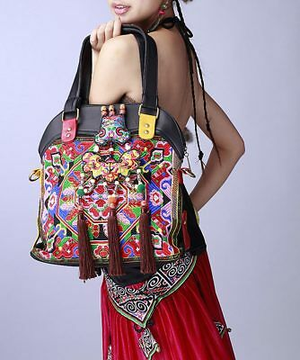 0c4e8b2737c 100% HANDMADE HANDBAG Purse Shoulder Sling Bag-Fine Oriental ...