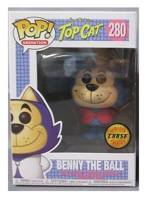 FUNKO POP Top Cat BENNY THE BALL CHASE VARIANT PINK #280 Hanna Barbera