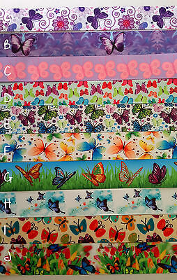 Butterfly ribbon collection 10 patterns to choose from
