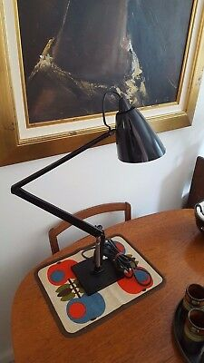 Vintage 1970's Iconic Studio K Planet Lamp in Black. Made in Australia