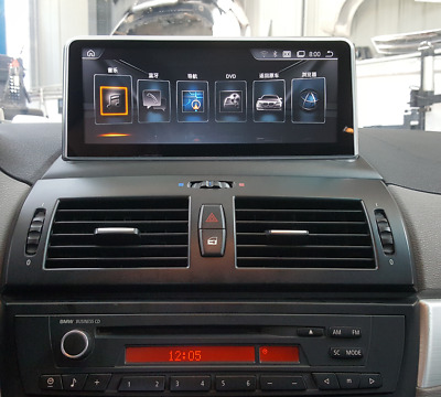 """Android 4.4 Car GPS Navigation 10.25"""" Wifi For BMW X3 E83 2004-2009 With AUX"""