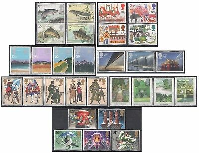 1983 Royal Mail Commemorative Sets MNH. Sold separately & as full year set.
