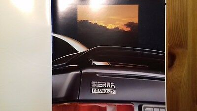 Libretto Originale Ford Sierra Cosworth