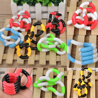 Tangle Jr Fiddle Fidget Stress ADHD Autism Sensory Help Stop Smoking Toy Fashion