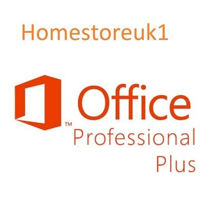 Office 2016 Pro Professional Plus OEM Key Code + Download Link Microsoft MS