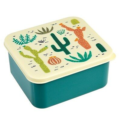 Rex London DESERT IN BLOOM LUNCH BOX WITH HANDY PUSH-ON LID