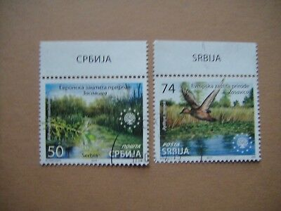 Serbia 2017. Europa Nature Protection. Used