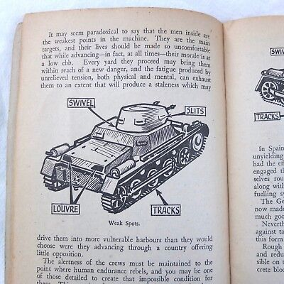 Ww2 1942 Anti Tank Weapons Manual Hand Grenades Rifle Northover Bombs Home Guard