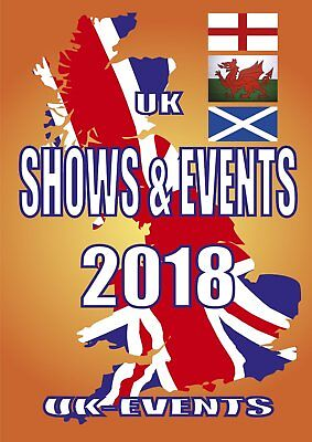 2018 Shows & Events Guide Book Burger Hot DogDonut Ice Cream Catering Trailer