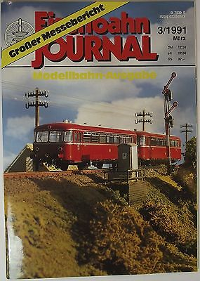 Eisenbahn Journal 3/1991 March, Large Show Report - Model Railway Issue