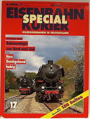 EK SPECIAL 17 museumsbahnen in Germany New Colored