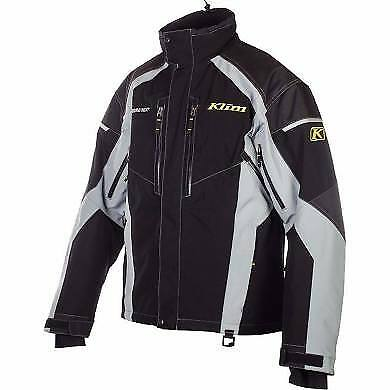 Klim Vector Parka Black/Gray XL - New with tags