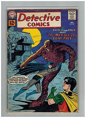Detective Comics (1937) #  298 (1.0-FR) SEVERAL COUPONS CUT AND GLUED, STORY COM