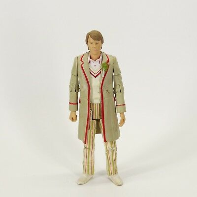 """Doctor Who THE  Fifth 5th Doctor action Figure 5.5"""" old face lost color"""