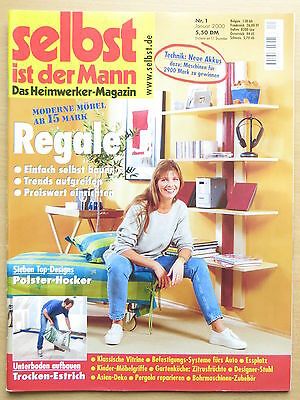 selbst ist der mann das do it yourself magazin 1 18 eur. Black Bedroom Furniture Sets. Home Design Ideas