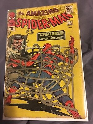 Amazing Spider-Man Issue 25 (First Appearance Mary Jane and Spider Slayers)