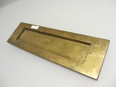Vintage Brass Letterbox Letter Box Post Slot Letters Retro Old Reclaim