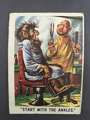 1959 You'll Die Laughing Cards # 26