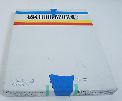 RARE Orwo universal photo paper opened BS 118 made in Germany