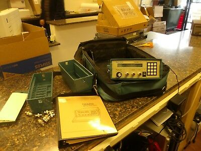 Tektronix TMA 802 portable Media Analyzer w/ Accessories Bundle Nice Condition