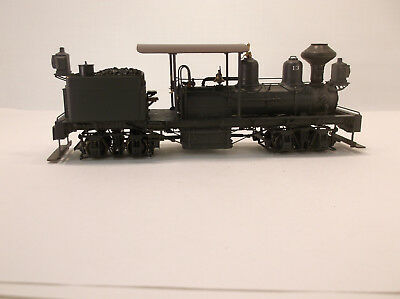 On3 BRASS PSC GEARED LOGGING 16TON 2 CYLINDER LEFT HAND DRIVE SHAY-PAINTED-RARE