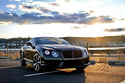 2014 Bentley Continental GT  2014 Bentley Continental V8s (one owner)