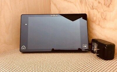 "Atomos Shogun 4K Recorder 7"" Monitor HDMI w/Battery & Charger - EXCELLENT"
