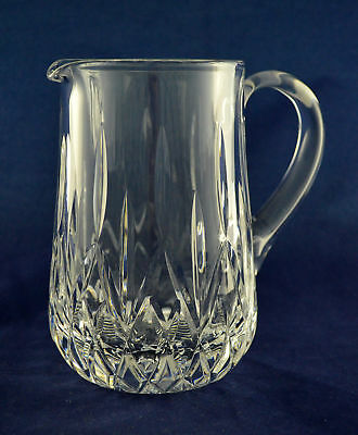 "Tyrone Crystal ""ROSSES"" Water / Juice Jug – 15.8cms (6-1/4) Tall"