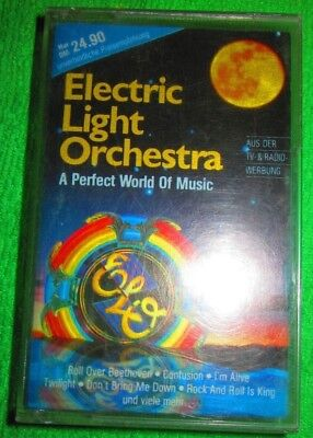 MC Musikkassette Tape Electric Light Orchestra A Perfect World of Music Cassette