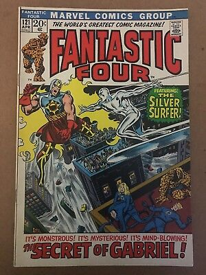 Fantastic Four 121 | NM | Silver Surfer, Galactus! | Marvel | HIGH GRADE