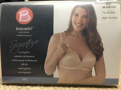 New Bravado Designs Women's Bliss Nursing Bra 38D/E(DD) Chai