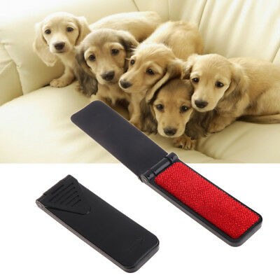 Mini Pet Hair Remover Portable Cleaning Brush Folding For Dogs Cats Clothes Sofa