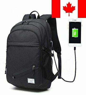Keynew Laptop Backpack USB Charging Port Water Resistant Anti Theft 15.6 inch...