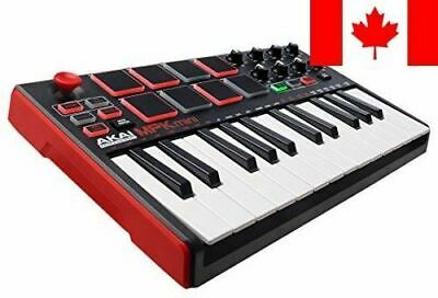 Akai Professional MPK Mini MKII | 25-Key USB MIDI Keyboard & Drum Pad Control...
