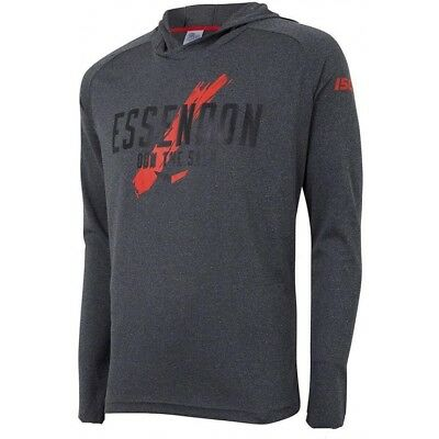 Essendon Bombers AFL 2018 ISC Players Warm Up Top/Hoody Size S-5XL! IN STOCK