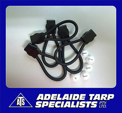 Ford Style Tonneau/Ute Loops 70mm (GST Inclusive) Pkt 5