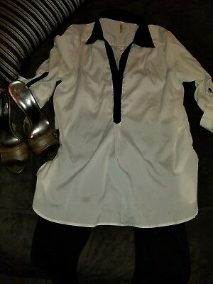 Silk Blouse Med. Sets With Pants Guess Slides