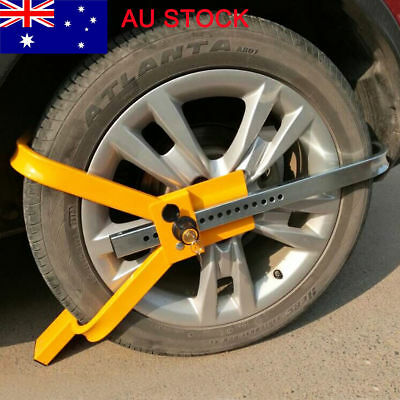 Heavy-Duty Car Auto Safety Wheel Clamp Anti-Theft Tyre Lock for Car Boat Caravan