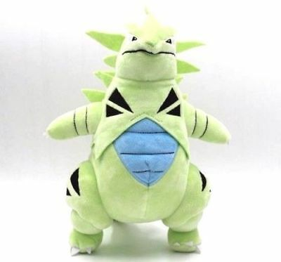 Pokemon Center Tyranitar Stuffed Plush toy Collectible Doll Figure Gift 12""