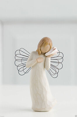 Willow Tree Figurine Thinking of You Angel By Susan Lordi  26131