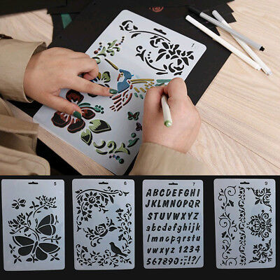Decorative Painting Embossing Template Layering Stencils Reusable New Hot