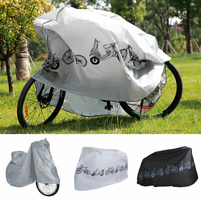 Motorcycle Motor Bike Scooter Waterproof UV Dust Snow Proof Protector Rain Cover